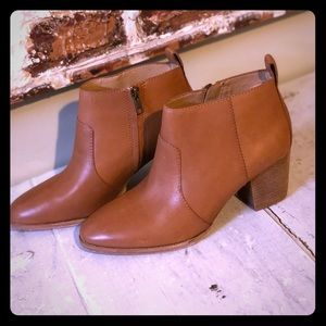 NIB Madewell Leather Brenner Bootie